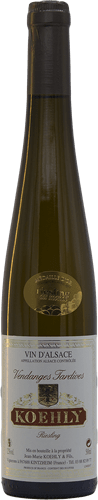 Riesling Vendanges Tardives Médaille d'Or du Monde 2009